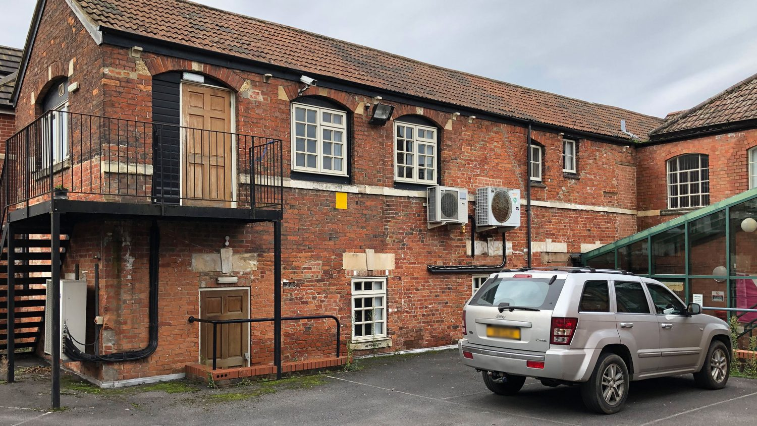 Former Wiltshire Times office and printing works