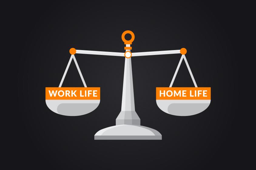 work life v home life
