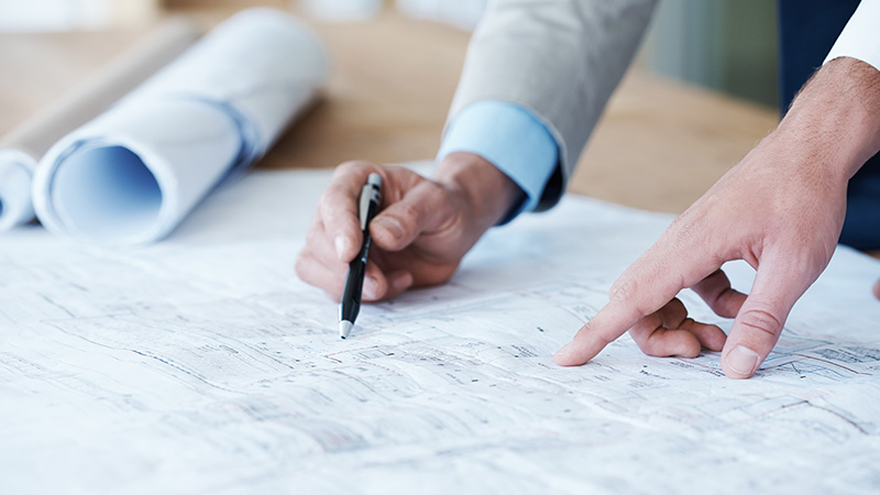 Our role in project managing building construction